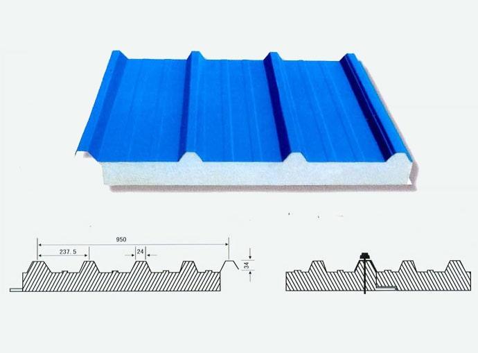 ساندویچ پانل-قیمت ساندویچ پانل سقفی
