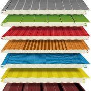 ساندویچ پانل-تفاوت ساندویچ پانل سقفی و دیواری