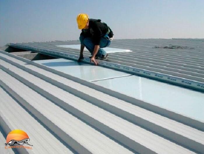 اجرای سازه های بزرگ با استفاده از ساندویچ پانل سقفی و دیواری